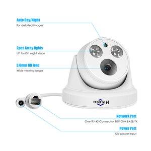 Image 5 - Hiseeu 2MP 5MP POE IP kamera H.265 1080P mermi CCTV IP kamera ONVIF POE NVR sistemi kapalı ev güvenlik gözetleme IR kesim