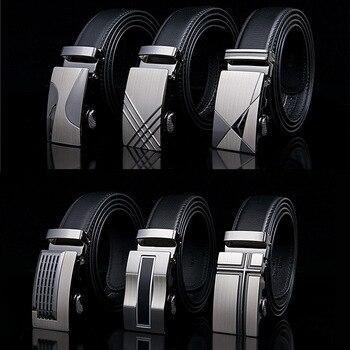 Célèbre marque Ceinture nouveau Homme concepteur automatique boucle cuir de vachette hommes Ceinture 110 cm-130 cm luxe ceintures pour hommes Ceinture Homme