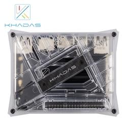 Khadas VIM3L HTPC KIT : Amlogic S905D3-N0N SBC mit DIY Fall