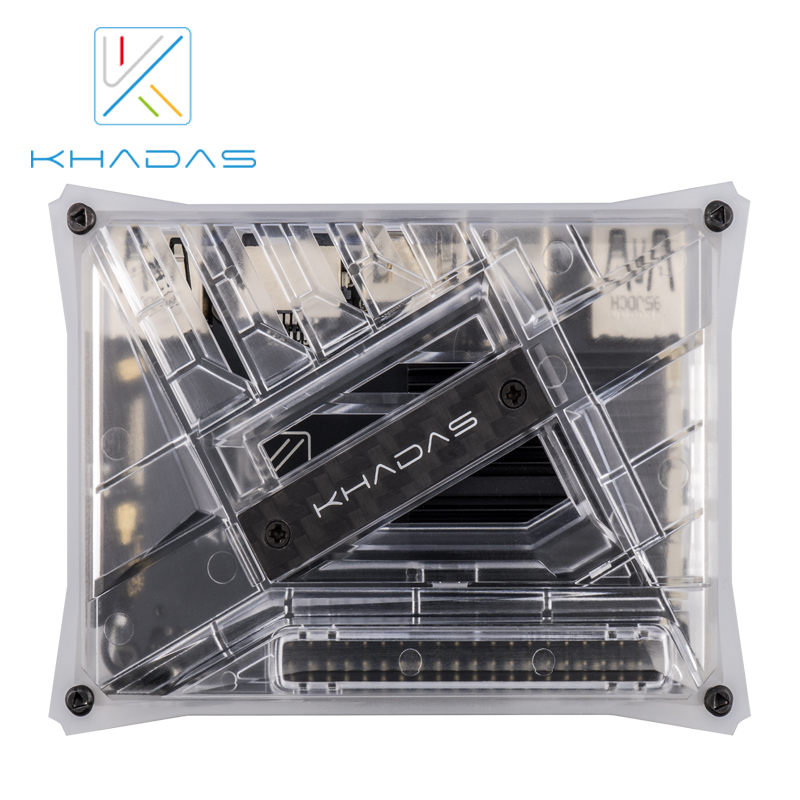 Khadas VIM3L HTPC KIT : Amlogic S905D3-N0N SBC With DIY Case