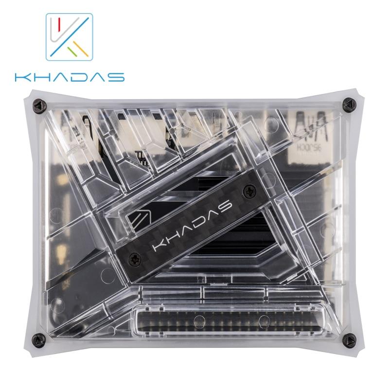 Khadas VIM3L HTPC KIT : Amlogic S905D3-N0N SBC With DIY Case
