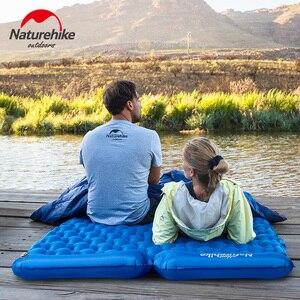 Image 2 - Natureigh tapis de Camping dextérieur ultraléger, Portable et avec oreiller, gonflable Double, sac de couchage résistant à lhumidité