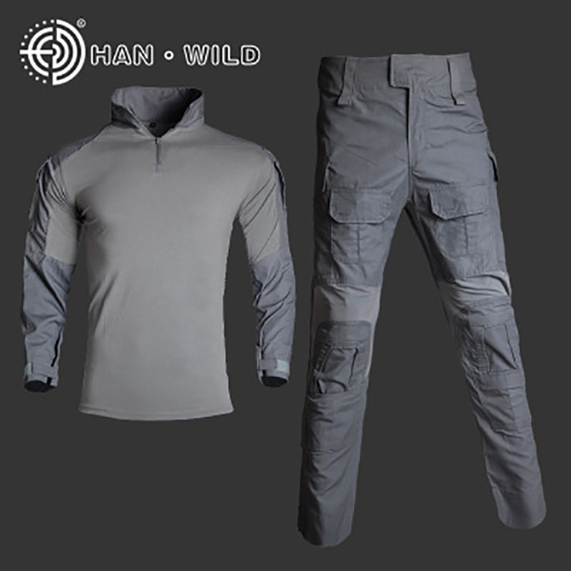 19 New Style G3 Clothing Frog Long-sleeve Suit Special Forces Training Clothes Army Fans Tactical Frog Suit