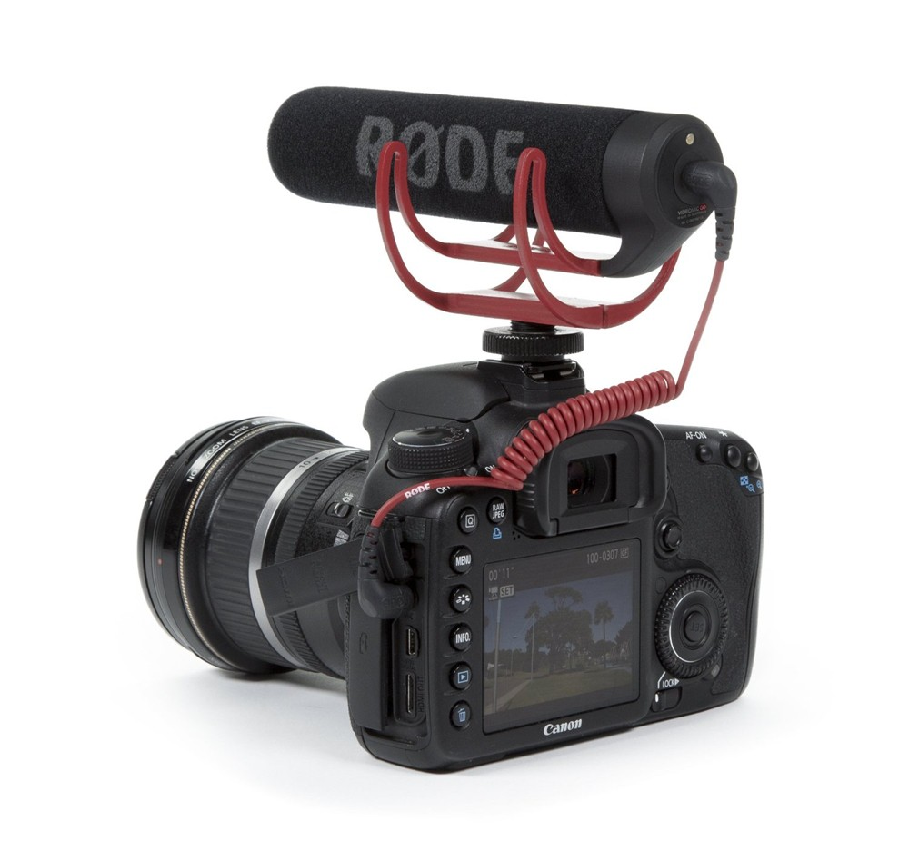 For Rode Videomic VidMic GO On Camera Shoe Mount Rycote Lyre Onboard Microphone-New title=