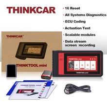 Thinkcar Thinktool Mini Tất Cả Hệ Thống Công Cụ Chẩn Đoán Tự Động VIN Wifi 28 Đặt Lại Miễn Phí Full OBD2 Máy Quét ECU Mã Hóa IMMO Hoạt Động thử Nghiệm