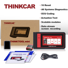 Thinkcar Thinktool mini sistemi teşhis aracı otomatik VIN Wifi 28 sıfırlama ücretsiz tam OBD2 tarayıcı ECU kodlama IMMO aktif test