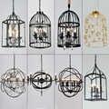 Moderna lampada a sospensione lampade a soffitto HA CONDOTTO le luci del pendente ristorante Decorazione Della Casa E27 Luce Apparecchio a sospensione luci di apparecchi di illuminazione