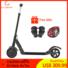 EU stock No tax KUGOO S1 350W Electric Scooter Adult Folding Speed 3 Modes 8 IP54 30KM 1-5day Delivery