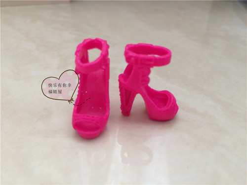 1/6 Doll shoes Single shoes, flat feet, sneakers, sandals, slippers flats for Barbie Doll shoes 1/6 2