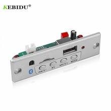 KEBIDU Bluetooth5.0 MP3 płyta modułu dekodującego bezprzewodowy samochód USB odtwarzacz MP3 gniazdo karty TF/USB/FM/zdalna płyta modułu dekodującego