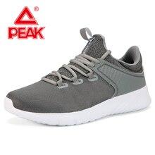 PEAK Men Mesh Breathable Sport Shoes EASY FLEX  Walking Jogging Footwear Outdoors Casual