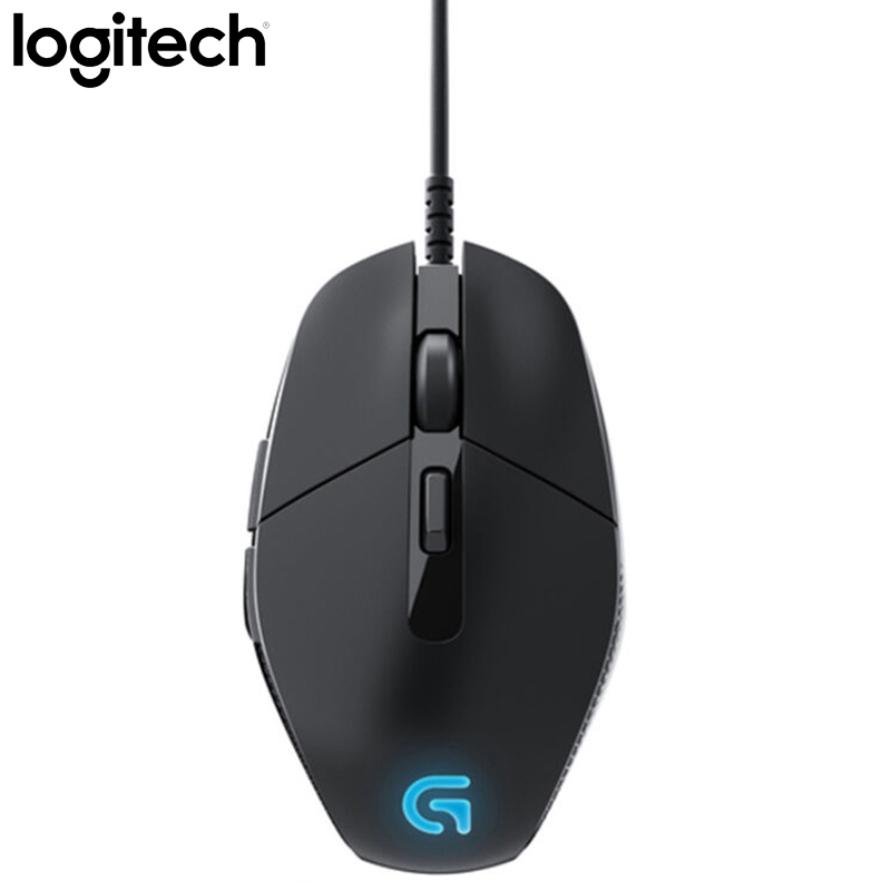 Mouse para pc Verificação de Escritório Logitech Wired Gaming Mouse Respirar Luz 4000 Dpi Usb Vídeo Game Windows Interface Suporte G302