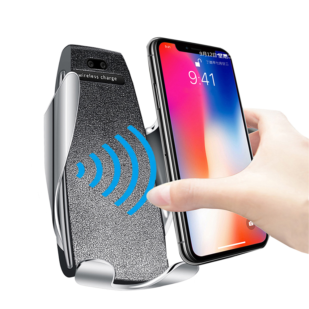 FLOVEME Wireless Charger For IPhone 11 Pro Max 7 8 Car Phone Holder For Your Mobile Phone Stand Phone Holder Car For Samsung S10