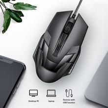 USB Verdrahtete Maus 1200 DPI Optische Mute Stumm Ruhig Mäuse Für PC Laptop Computer Ergonomie Design Gaming Büro Arbeiten Mäuse