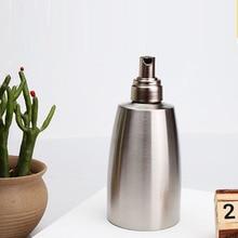 Ванная комната из нержавеющей стали легко установить прозрачный удобный контейнер ручной практичный большой емкости дозатор мыла для дома