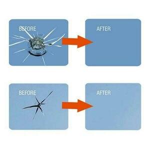 Image 4 - 4 زجاجات أدوات إصلاح زجاج السيارات ، الزجاج الأمامي ، رقاقة الكراك ، سائل إصلاح نانو استعادة