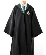 Traje Cosplay disfraces de Halloween bata mágica capa con corbata niños adultos traje de Cosplay regalo