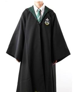 Маскарадный костюм Поттер, плащ с галстуком, Детский костюм Поттера для взрослых