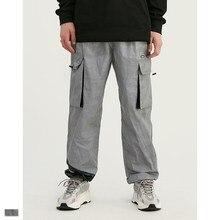 Cooo Coll Men women fashion long pants hip hop kanye west streetwear biker Polyester pocket jogger Pant Camouflage trousers