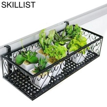 Flower Metal Balcony Rack
