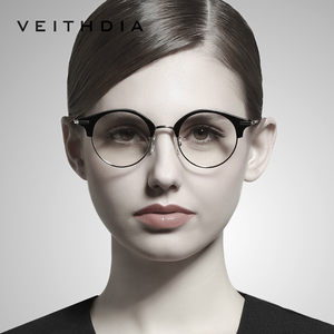 VEITHDIA 2020 Women Optical Glasses Computer Goggles Clear Lens Eyeglasses Spectacle Frames For Women Accessories V1230