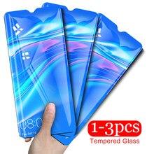 1-3pcs vetro temperato per huawei y7 2019 di vetro huavei huwai y7 pro 2019 y7pro 7y y 7 y schermo di protezione safty vetro flim