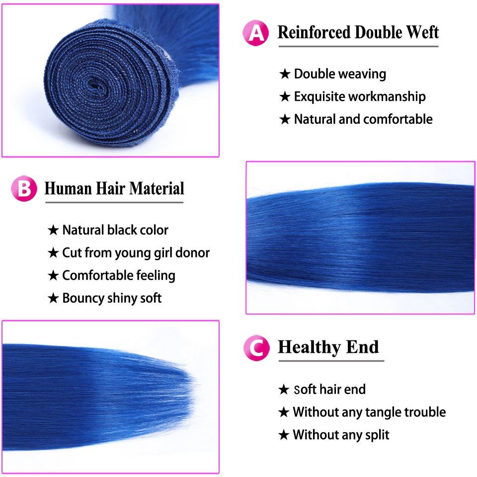 Blue 3 bundles with 4x4 lace closure_05