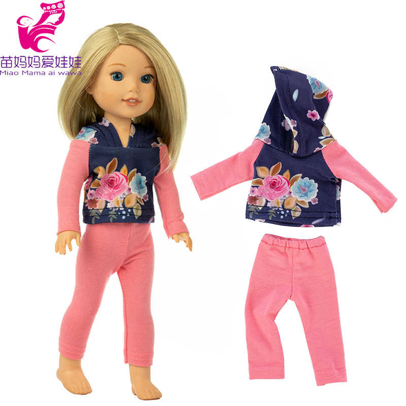 "for 14.5"" Wellie Wishers doll coat Camille Ashlyn Kendall Emerson clothes 38cm 36cm nancy doll clothes girl gift"