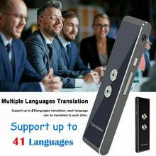 Умный голосовой переводчик портативный двухсторонний в режиме реального времени многоязычный перевод T8