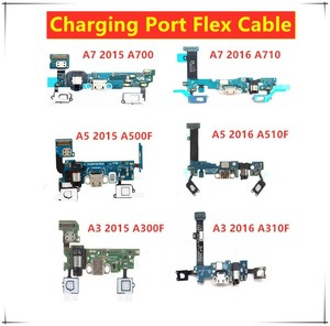 USB Charging Dock Cable For Samsung Galaxy A3 / A7 / A5 2016/2015 SM-A510F A510/ A500 F Charge Port Dock Connector Flex Cable