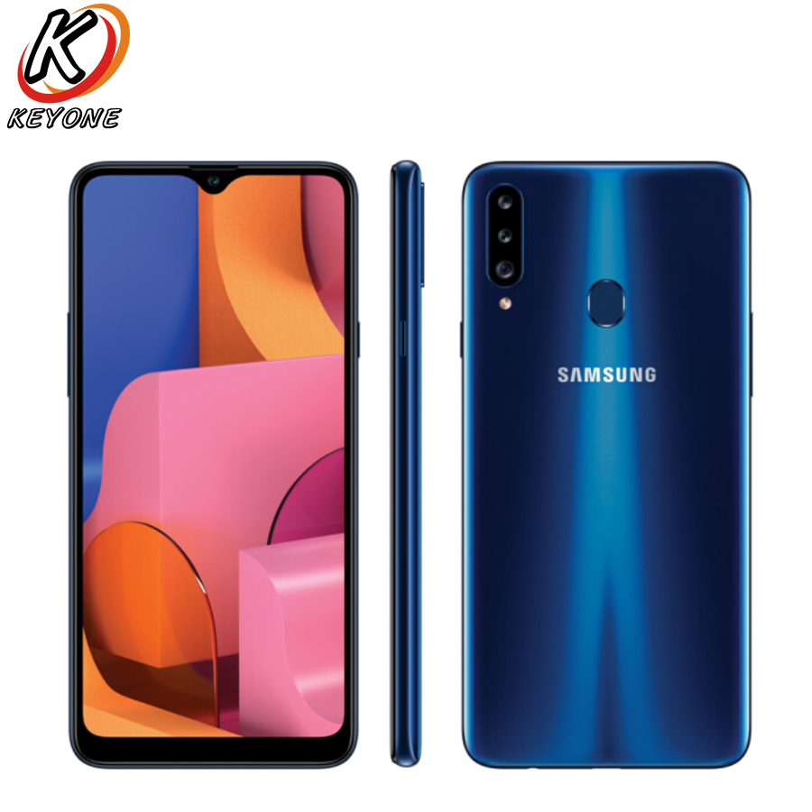 New <font><b>Samsung</b></font> <font><b>Galaxy</b></font> <font><b>A20s</b></font> A2070 4GB RAM 64GB ROM Mobile Phone 6.5