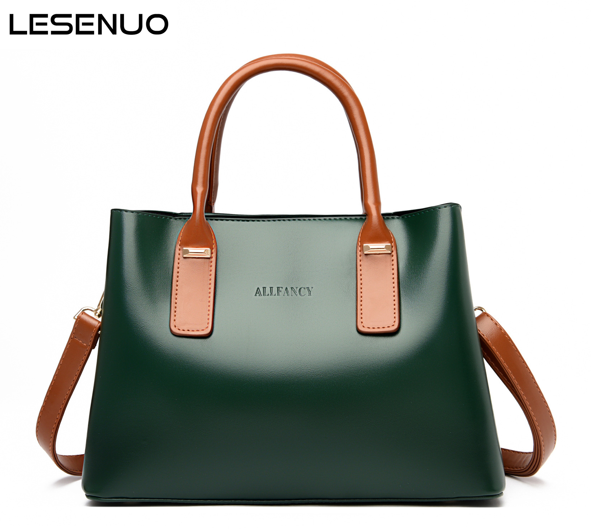 LESENUO Женские винтажные сумки, дизайнерская Большая вместительная сумка-тоут 2020, женские модные роскошные сумки, брендовые сумки, сумка на пл...