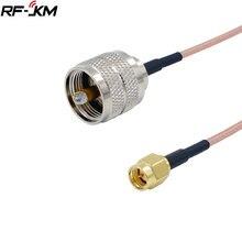 Uhf pl259 штекер sma отрезок кабель антенны разъемы rg316 ручной