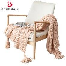 Хлопковое одеяло bubble kiss одеяла ручной вязки для кровати