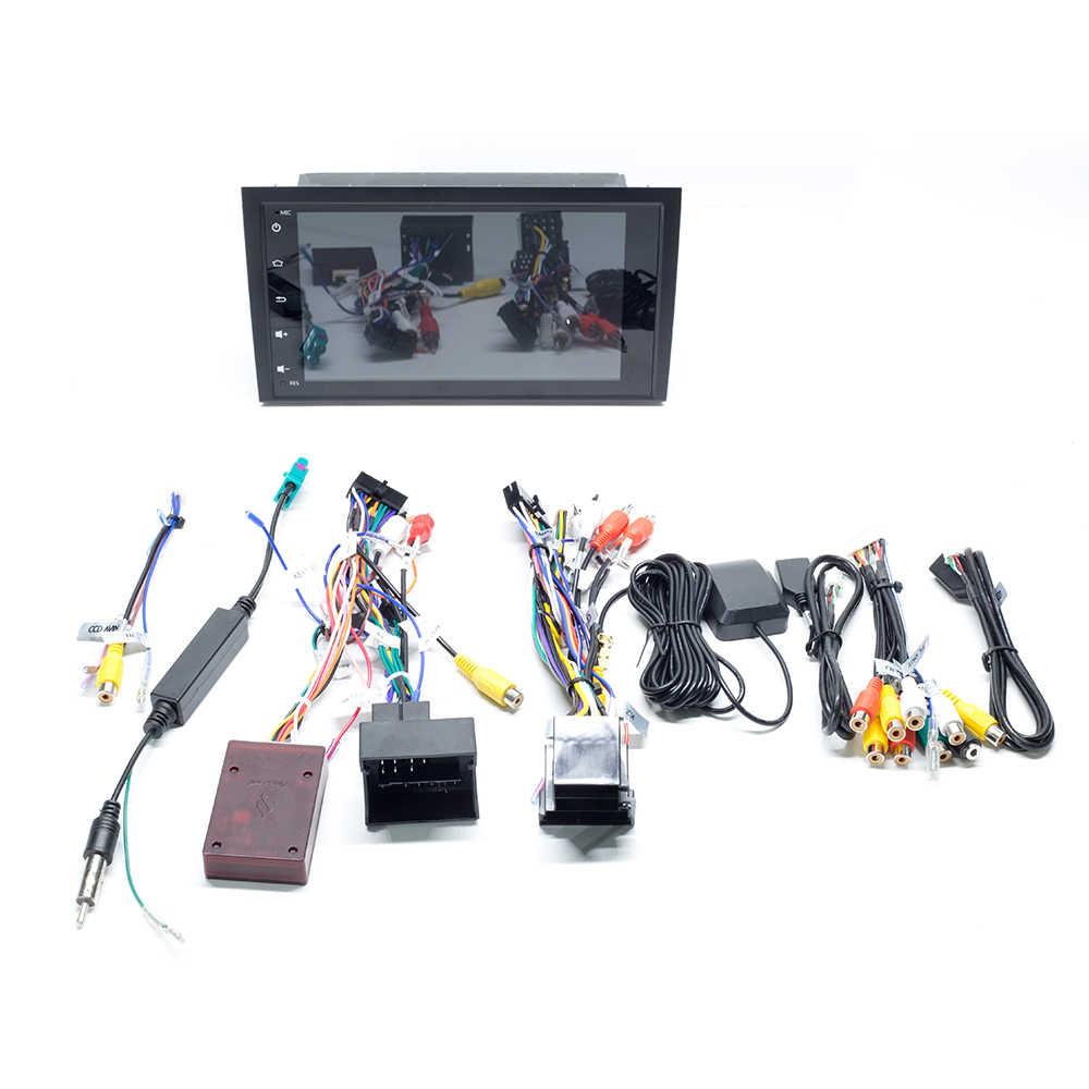 2 ディンアンドロイド 9.0 カーラジオ DVD アウディ A4 B6 B7 S4 B7 B6 RS4 B7 シート Exeo 2002 -2008 マルチメディア GPS ナビゲーションヘッドユニットステレオ