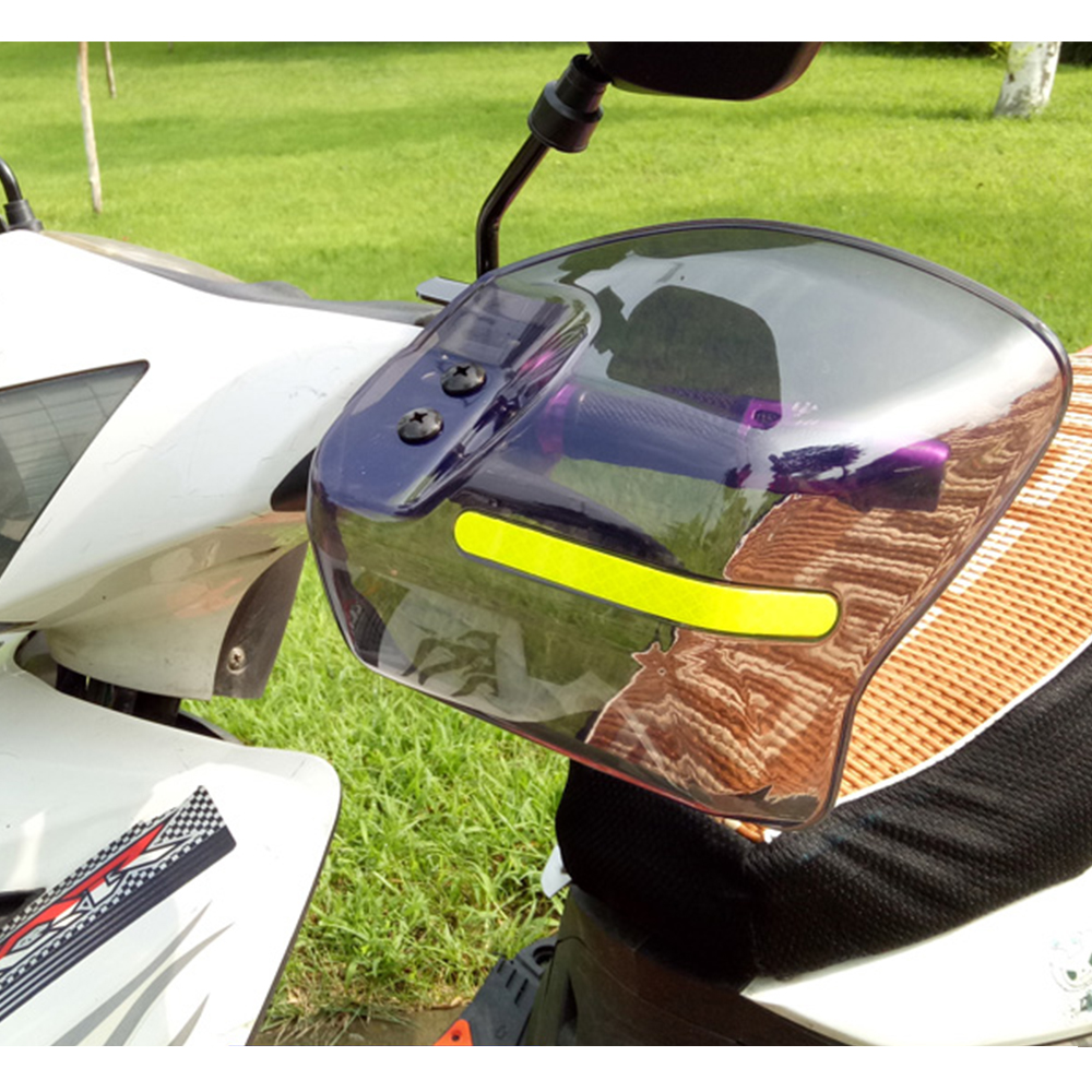 FOR suzuki sv650 vfr 750 pulsar <font><b>ns</b></font> <font><b>200</b></font> cbf 600 Motorcycle 22mm Handguard scooter Hand Guard ATV hand Protector accessories image