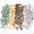 Горячая Распродажа, металлические ключи разные кулоны антикварный бронзовый браслет ожерелье ручной работы, производство ювелирных издел...