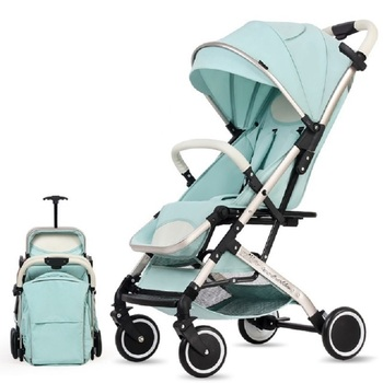 Magic ZC Baby Stroller foldable EU US NO TAX Stroller baby buggy car can sit can lie ultra-light portable on the airplane