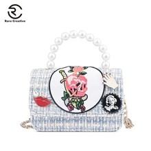 RARE CREATIVE Small Crossbody Lady's Bag Sling Bags For Women Famous Designer Brand Bag children's Handbag Top-Handle Bag HS8035