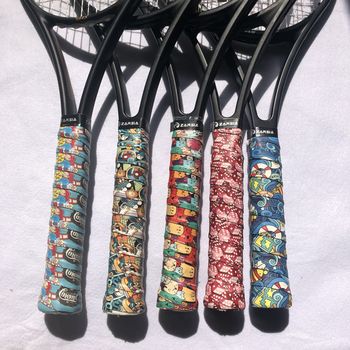 2 pcs ZARSIA 2020 NEW printing tennis overgrips,Anti-Slip badminton Overgrips, quash racket overgrips фото