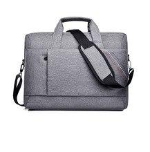 Vintage Men Laptop Bag Large Capacity Briefcase Oxford Office Handbag Document Case Totes Shoulder