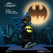 Beast kingdom – ensemble de poupées Batman pour Garage, avec autorisation authentique DC, modèle de Collection, jouet cadeau
