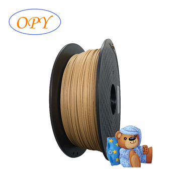 Wood Filament 1.75 Pla 1.75Mm 1Kg 3D Printer Printing Wire Filaments For 1 -F- 75 Plastic Thread Coils Gold Threads Mm image