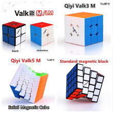 Qiyi 2x2 3x3 4x4 5x5 Магнитный куб магический пазл valk2 valk3