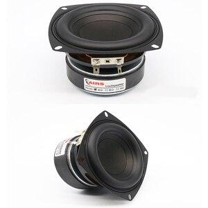 Image 4 - Kaolanhon 4 Inch 100W 4 ~ 8ohm Versterker Luidspreker Diy Home Audio Subwoofer High Power Speaker Ronde Vierkante 65 hz 3500Hz Lange Slag