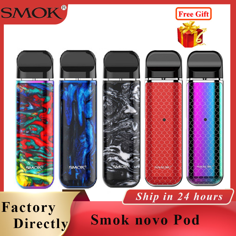 SMOK Novo Kit Cobra Covered Pod Vape Pen Kit With 450mAh Built-in Battery 2ml Capacity Pod Vape Cartridge & Smok Novo 2