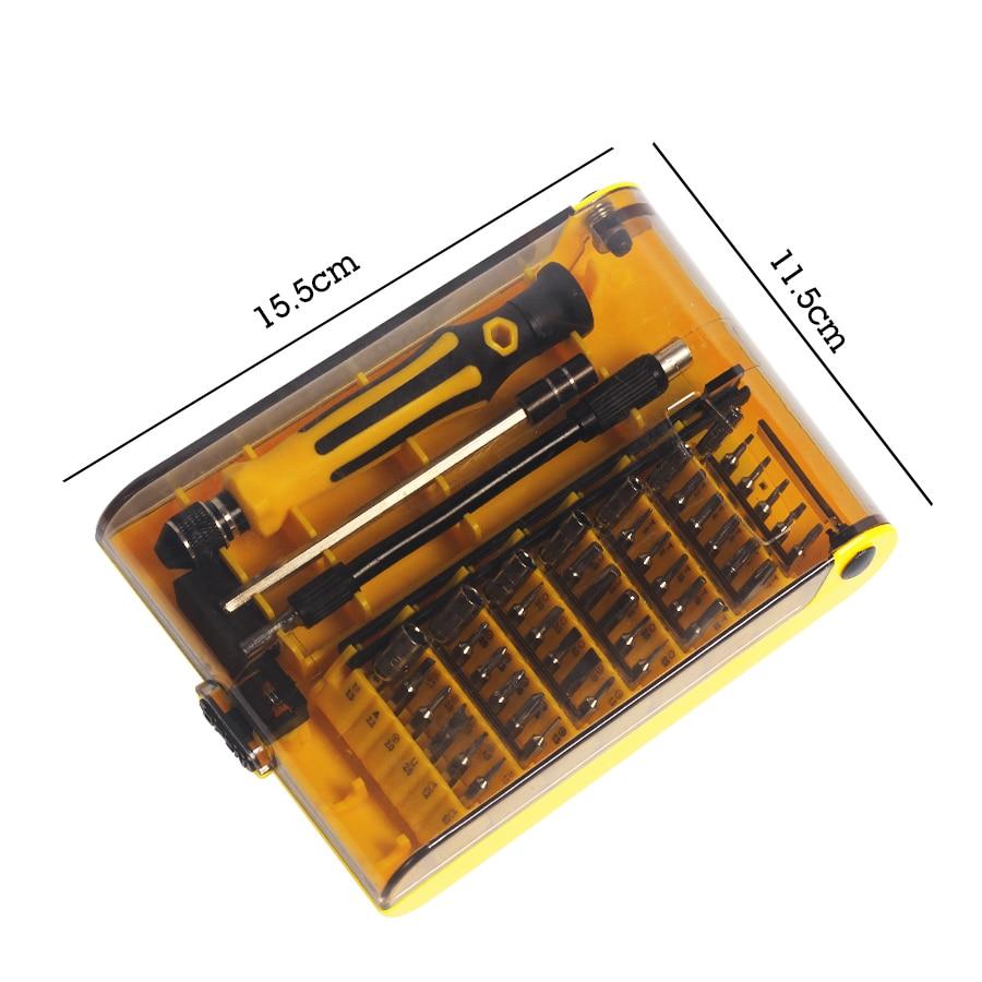 Precisión 45 en 1 Juego de destornilladores de mano magnéticos Torx - Herramientas manuales - foto 5