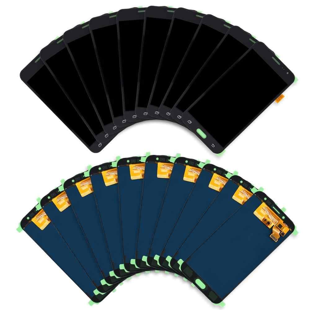 10 قطعة من شاشات Lcd لسامسونج غالاكسي J3 2016 J320 SM-J320F J320M J320FN شاشة الكريستال السائل + مجموعة المحولات الرقمية لشاشة تعمل بلمس استبدال