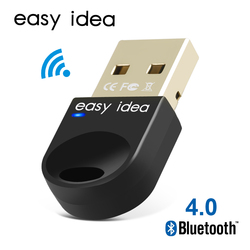 Adaptador USB inalámbrico con Bluetooth para ordenador Bluetooth Dongle USB Bluetooth 4,0 adaptador receptor Bluetooth transmisor