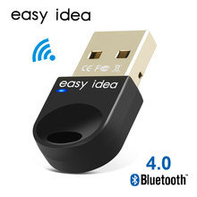 Adaptador USB inalámbrico con Bluetooth para ordenador Bluetooth Dongle USB Bluetooth 4,0 adaptador receptor Bluetooth transmisor(China)